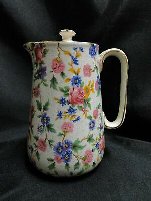 $ CDN125.87 • Buy Royal Winton Old Cottage Chintz: Countess Syrup Pitcher & Lid, 5 3/8