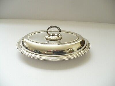 £12 • Buy Vintage Silver Plated Entree Dish / Serving Tureen  - Hb & H Sheffield -