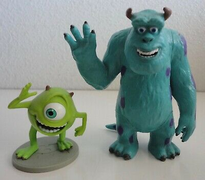 £9.02 • Buy Monsters Inc MIKE & SULLEY Monster PVC Figure 4  Disney Figurine Cake Topper Toy