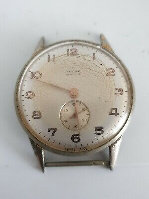 $ CDN51.46 • Buy Mens Vintage Ancre 15 Rubis Wristwatch Working But Needs Attention