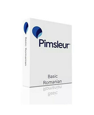 £23.74 • Buy Pimsleur Romanian Basic Course - Level 1 Lessons 1-10 CD: Learn To Speak ...