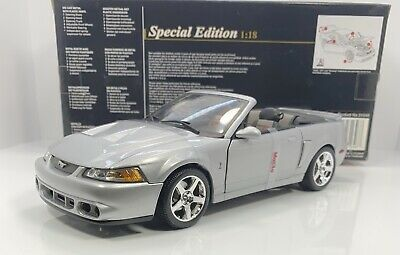 """$249.99 • Buy Maisto 1/18 Scale 2003 FORD SVT MUSTANG COBRA """"SPECIAL EDITION"""" RARE"""