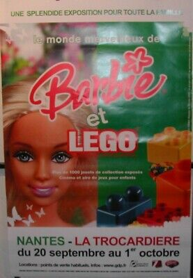 £25.92 • Buy Barbie LEGO - 80x120cm - RARE POSTER ROLLED