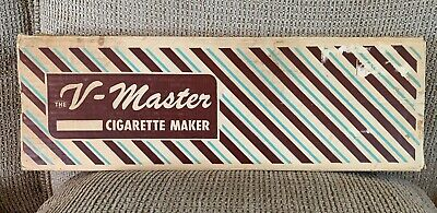 $ CDN50.34 • Buy Vintage V-Master Cigarette Rolling Machine With Box With Vogue Papers Strips