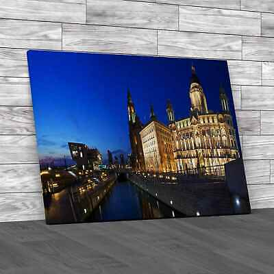 £16.95 • Buy Panoramic View Of The Three Graces In Liverpool Original Canvas Print Large