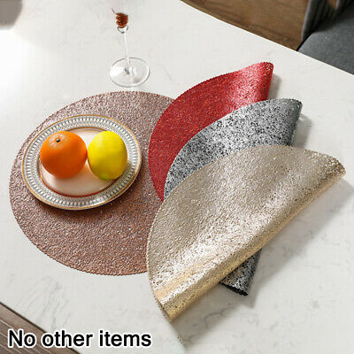 AU30.37 • Buy Placemats Set Chargers Place Mat Washable Dining Table Wedding Party Mat Pack