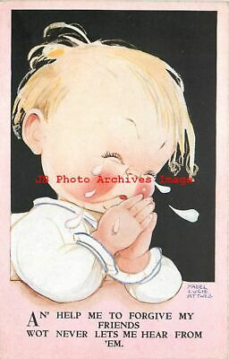 $7.99 • Buy Mabel Lucie Attwell, Valentine No 3696, An Help Me To Forgive My Friends