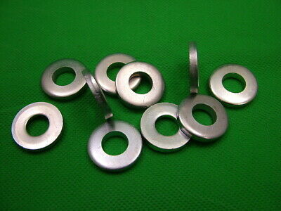£3.66 • Buy Extra Thick Flat Spacer Washers, Steel, M10, 4mm Thick, Pack Of 10, Zinc Plated