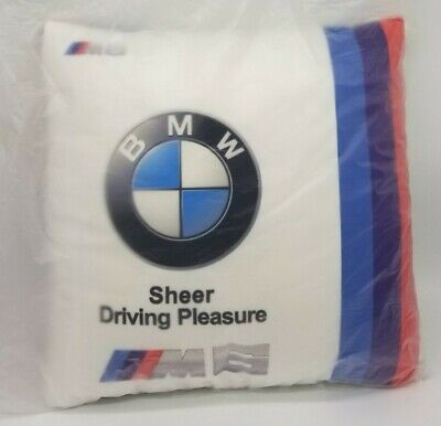 $21 • Buy BMW M6 Decorative Pillow Sheer Driving Experience White Pillow
