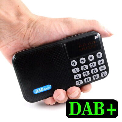 £20.95 • Buy DAB / DAB+ Digital Radio Portable With FM Rechargeable Battery Bluetooth Speaker