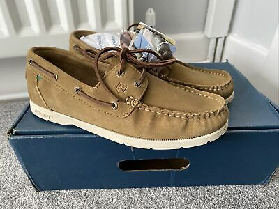 """£20 • Buy Dubarry """"skipper"""" Sand Suede Boat Deck Shoes Size 6.5 40 New Boxed ⛵️⛵️"""