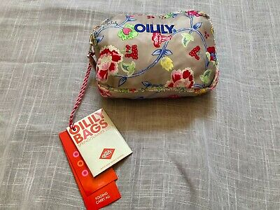 £17.75 • Buy NWT NEW OILILY Cafe Latte Floral Light Weight Folding Carry All Bag Tote