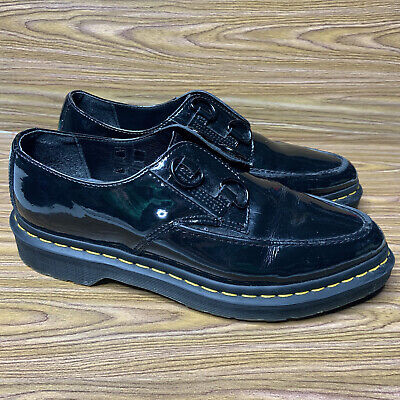 £38.95 • Buy Dr. Martens Belladonna Women's 10 Black Patent Leather Creeper Pointed Toe Shoes