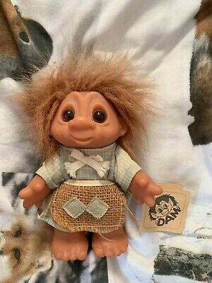 £25 • Buy Dam Troll Doll Vintage Tagged Cottagecore