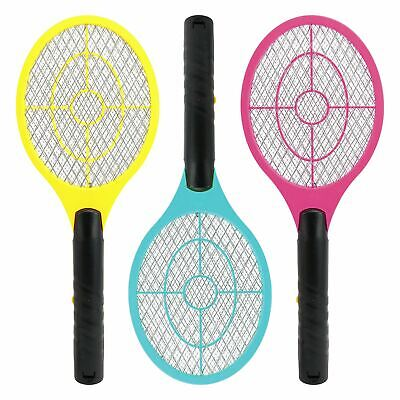 £6.95 • Buy Electric Fly Insect Swatter Swat Bug Mosquito Wasp Zapper Killer Electronic