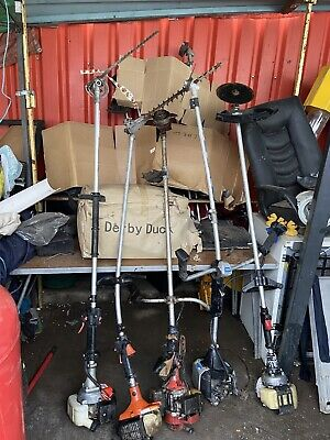 £100 • Buy Joblot Petrol Grass Strimmers Spares Or Repairs
