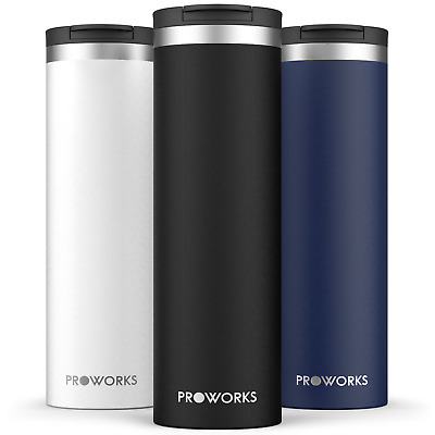 £20 • Buy Proworks 500ml Travel Mug, Reusable Leakproof Coffee Flask For Hot & Cold Drinks