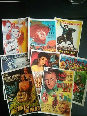 £5.30 • Buy Postcards Collection. Spanish Posters Film Postcards.. 8 Cards. Immaculate Cond.