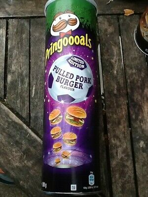 £19.99 • Buy 4x Pringles Pulled Pork Burger Flavour Big Cans 200g New Ltd Edition