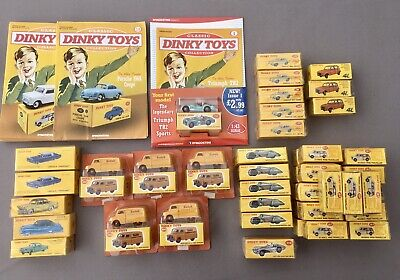 £288 • Buy Dinky Cars - JOB LOT Of 48 Models (Including Collector Magazines) - SEE PICTURES