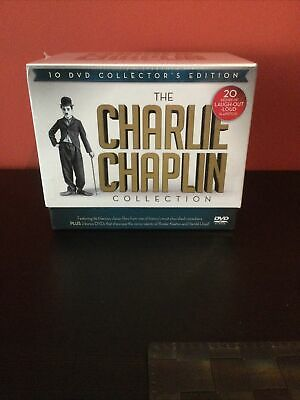 £21.99 • Buy The Charlie Chaplin Collection / 10 DVD Collector's Edition Boxset Brand New!!