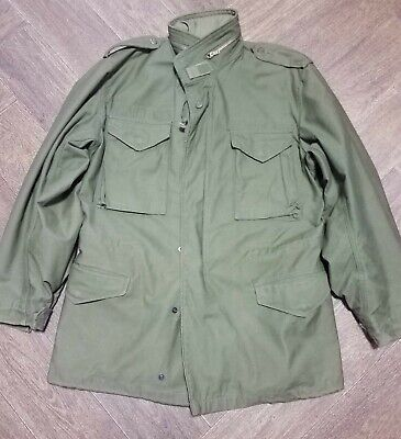 $180 • Buy  VTG 1976 M65 Military Field Jacket With Liner  Winfield Mfg   Med Long Excelent