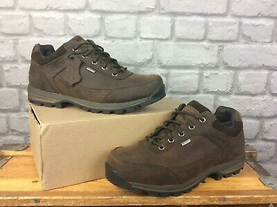 £89.50 • Buy Brasher Mens Country Roamer Brown Leather Walking Shoes Rrp £135 Many Sizes