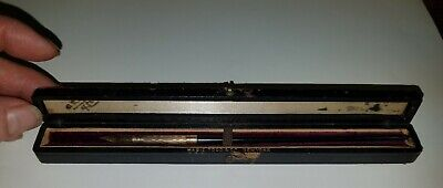 $49.95 • Buy Antique Mabie & Todd No. 2 Gold Filled Fountain Dip Pen W/ Case