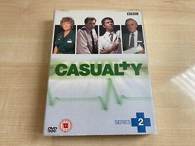 £24.99 • Buy Casualty Complete 2nd Second Season Series 2 Two Dvd Uk Bbc Tv Hospital Drama