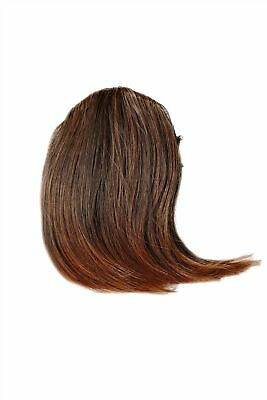 $5.93 • Buy Clip-In Fringe Parted Heat Resistant Hair Extension Chestnut Mahogany 2T30