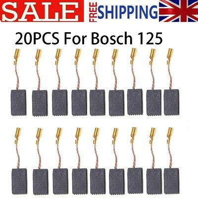 £6.59 • Buy 20Pcs Motor Carbon Brushes Set For Bosch 125 Electric Drill Angle Grinder UK