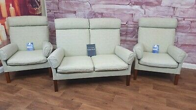 £399 • Buy Parker Knoll 3 Piece Suite (2 Seater Sofa & Pair Of Chairs)