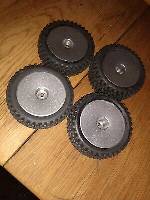 £19.70 • Buy 1/10 Scale Rc Buggy Wheels And Tyres Foam Inserts 12mm Hex