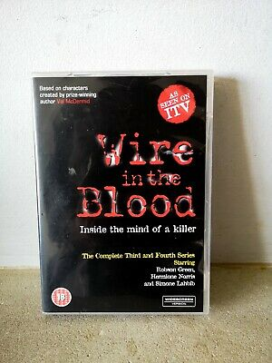 £6.99 • Buy Wire In The Blood Complete Series 3 & 4 : DVD.