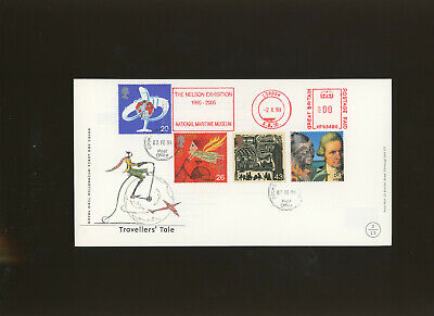 £4.99 • Buy 1999 Travellers Tale RM FDC Cookstown Reg CDS+London M/M  The Nelson Exhibit