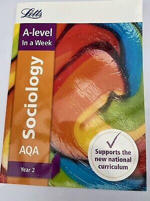 £5.40 • Buy Letts A-level Revision Success AQA A-level Sociology By Letts A-level: Like New