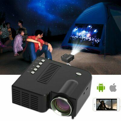 AU39.59 • Buy HD Mini Portable Family Micro Mobile Phone Video Projector Home Theater 16:9 AU