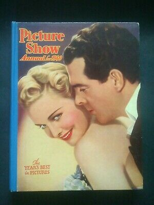 £18.10 • Buy Vintage Film Book. Picture Show Annual 1940. Lovely Condition.