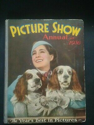 £17.50 • Buy Vintage Film Book. Picture Show Annual 1936 Nice Condition- Only Wear On Corners