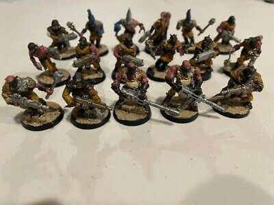 £33.98 • Buy Warhammer 40K - Chaos Cultists - Assembled And Painted - 17 Total Models