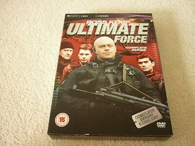 £5 • Buy Ultimate Force - Complete Series Dvd Box Set