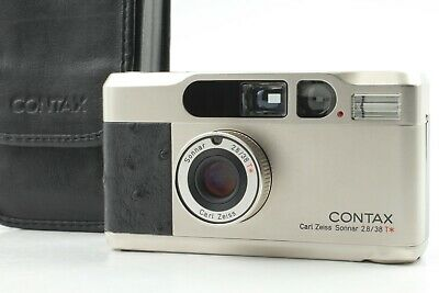 $ CDN2028.18 • Buy [Mint In Case] Contax T2 Platin Platinum Operation Film Camera From Japan A35