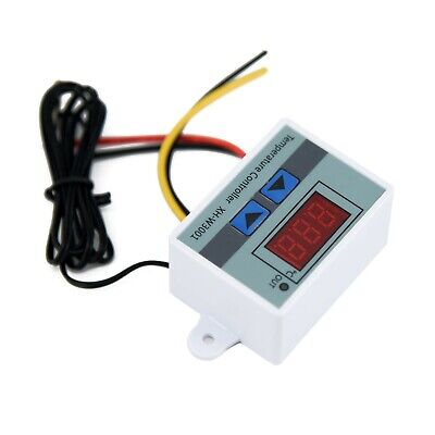 £4.65 • Buy 1 Pc Digital LED Temperature Controller Thermostat Control/Switch Probe 12V/220V