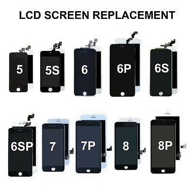 £26.99 • Buy For IPhone 5 5S 6 6S 7 8 Plus SE2 Screen Replacement LCD Digitizer Touch Display