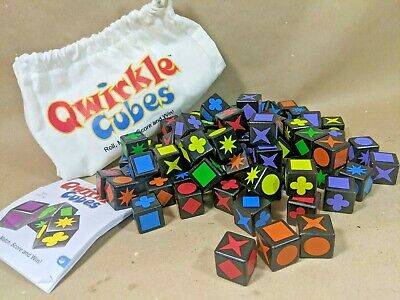 $ CDN37.34 • Buy MindWare Boardgame QWIRKLE CUBES EUC Wooden Ages 6+ Tabletop Dice Game