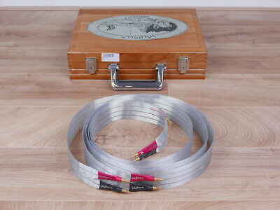 £2479.48 • Buy Nordost Valhalla Reference Highend Audio Speaker Cables 2,0 Metre
