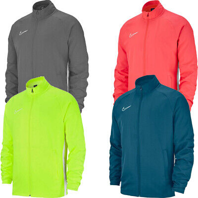 £23.50 • Buy Nike Mens Running Track Jacket Dry Academy 19 Sports Tops Full Zip Jackets Size