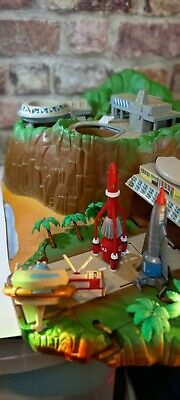 £45 • Buy Thunderbirds - Vintage Matchbox Tracy Island + 3 Vehicles - AND SOUND WORKING