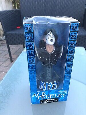 """£19.99 • Buy 2002 Mcfarlane Toys Kiss Ace Frehley Space Ace Bust Figure 7"""""""