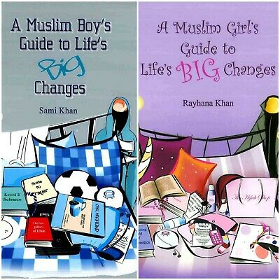 £5.99 • Buy A Muslim Boy's / Girl's Guide To Life's Big Changes - 2 Book Set (Ta-Ha)